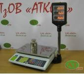 Весы для торговли электронные ВТА-60/15-5-А