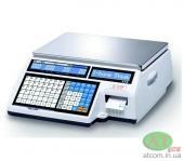 Ваги чекодрукуючі електронні CAS CL5000J-IB