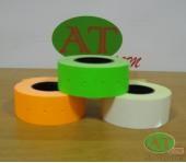 Етикет-стрічка 21х12 кольорова
