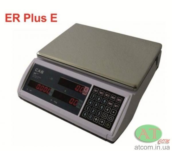 Весы магазинные электронные CAS ER-Plus (LT)
