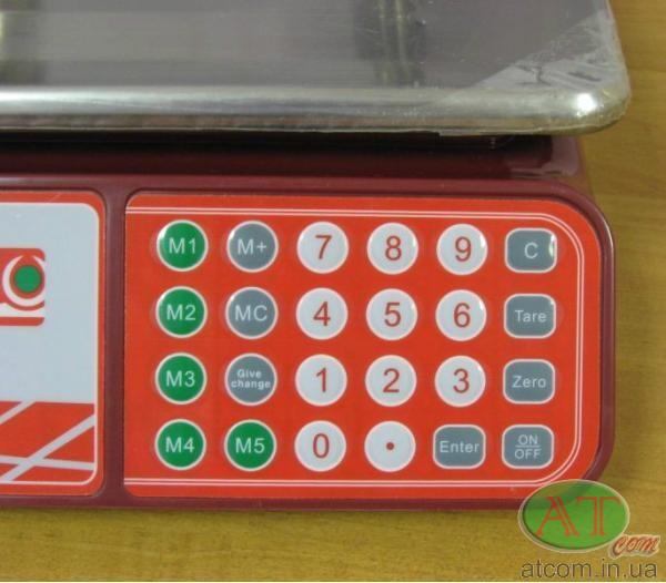 Электронные торговые весы Camry CTE