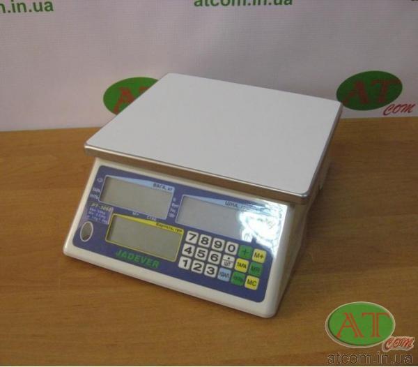 Весы торговые Jadever РТ-3060 / РТ-1506