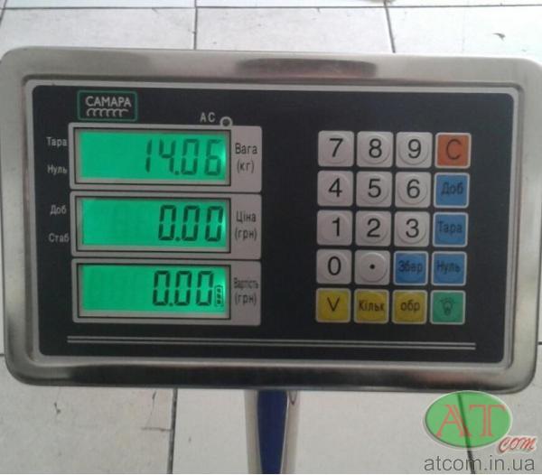 Товарні ваги з набором ціни ВПЕ-Центровес-405-СМ