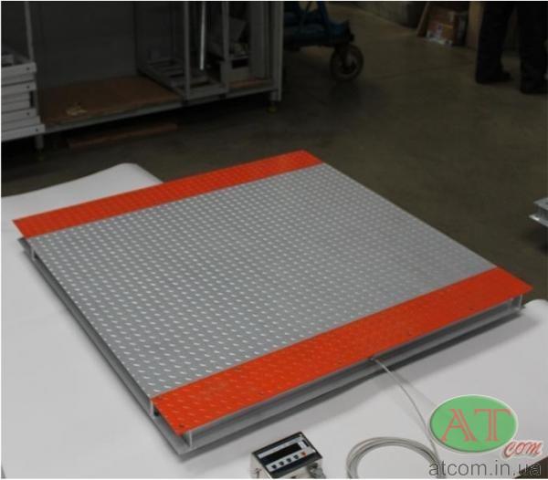 Весы платформенные, весы низкопрофильные электронные ТВ4