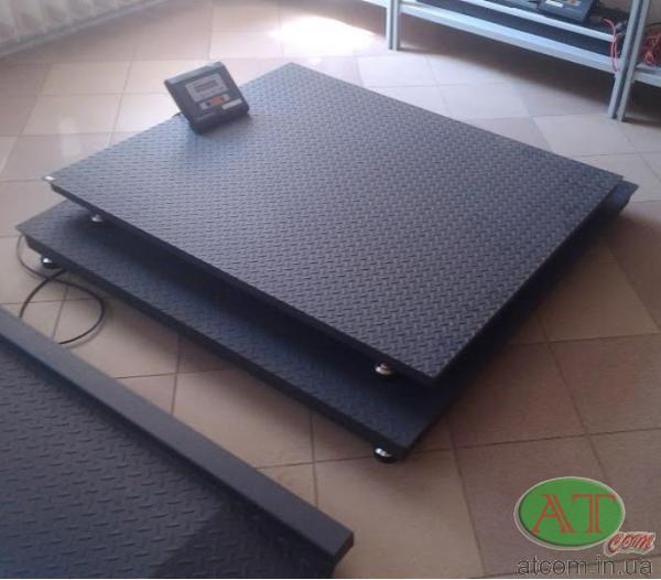 Весы электронные платформенные, весы в приямок ВН