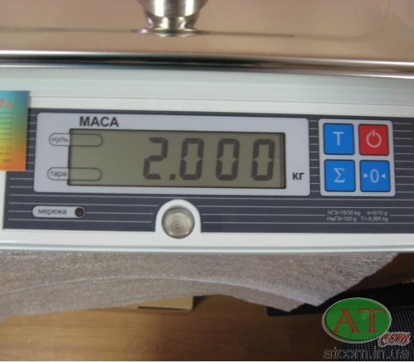 Весы для простого взвешивания ВТА-60/15-7-А
