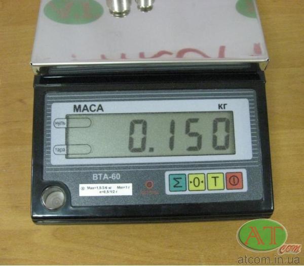 Фасувальні ваги ВТА-60/6-7-А-2