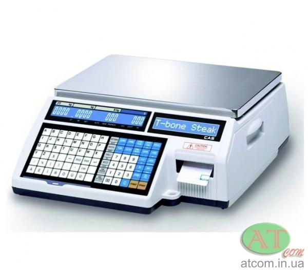 Весы чекопечатающие электронные CAS CL5000J-IB