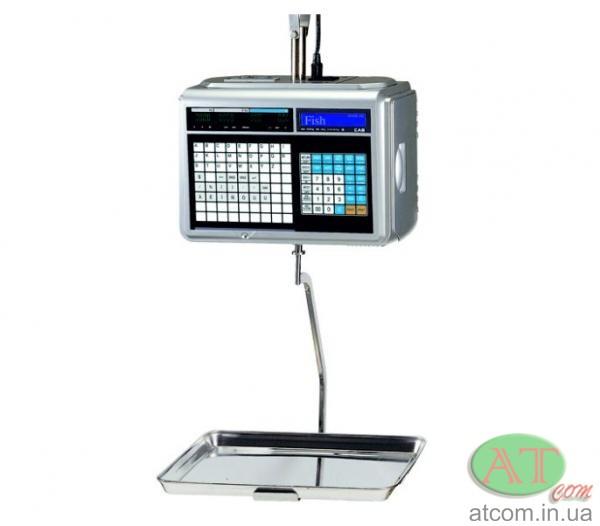 Подвесные весы с печатью этикетки CAS CL5000J-IH