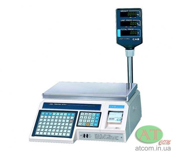 Весы с печатью этикеток CAS LP-R (1.6)