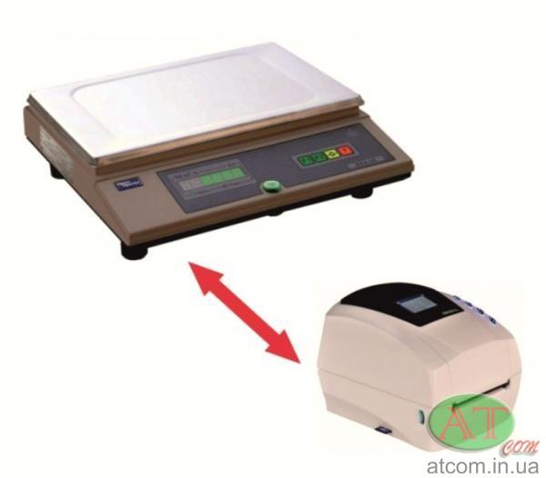 Весы с принтером этикеток, весомаркировочный комплекс