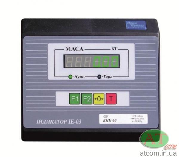 Весовой индикатор IE-03 (светодиодный)