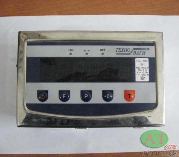 Нержавіючий вагопроцесор ТВП-12е (світлодіодний)