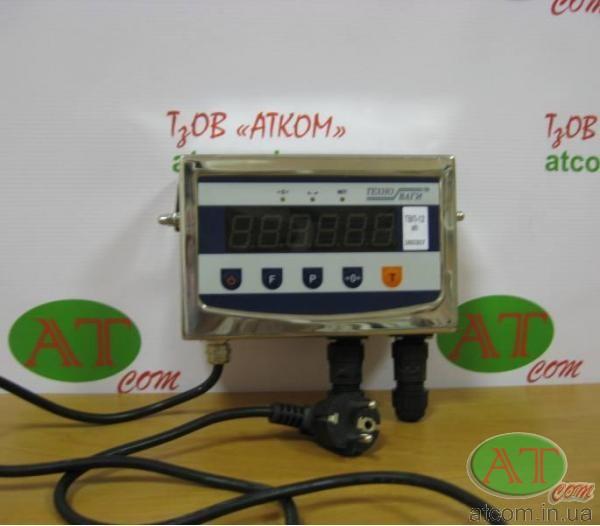 Влагозащищенный нержавеющий весопроцессор ТВП-12eh (светодиодный)