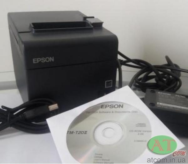 Термопринтер чеків EPSON TM-T20II (USB)