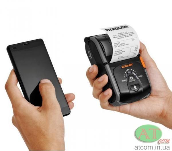 Портативный чековый принтер BIXOLON SPP-R200IIIBK / SPP-R200IIIWK