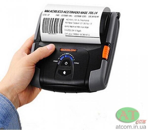 Мобильный чековый принтер BIXOLON SPP-R400BK / SPP-R400WK