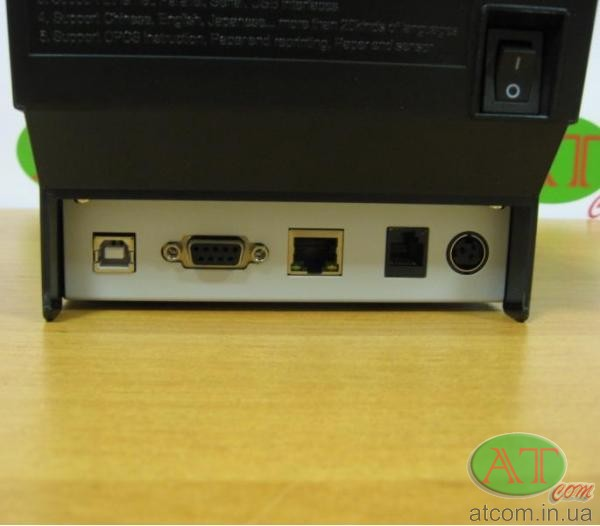 Принтер чеков SPARK PP-2010.2A (USB+RS-232+Ethernet)