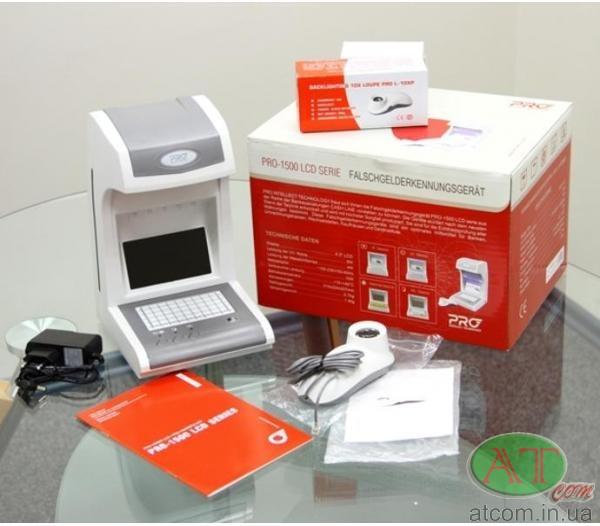 Инфракрасный детектор валют PRO 1500 IRPM LCD