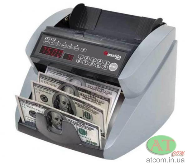 Лічильник банкнот Cassida 7700 UV