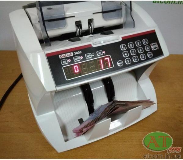 Лічильник банкнот DoCash 3000 SD
