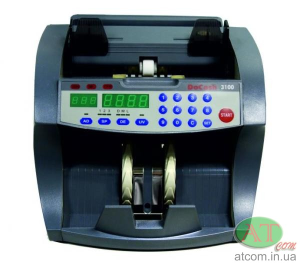 Счетчик банкнот DoCash 3100 SD/UV