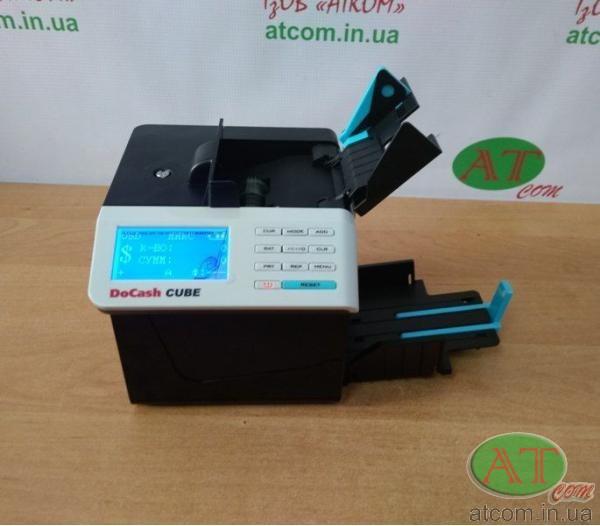 Счетчик банкнот - детектор валют DoCash Cube