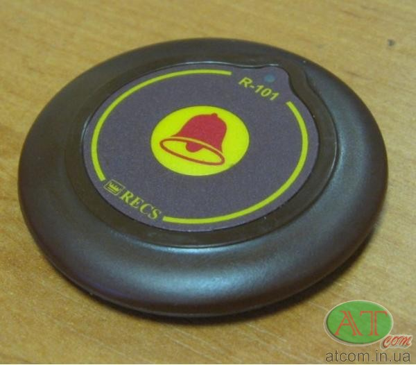 Кнопка вызова официанта R101 RECS