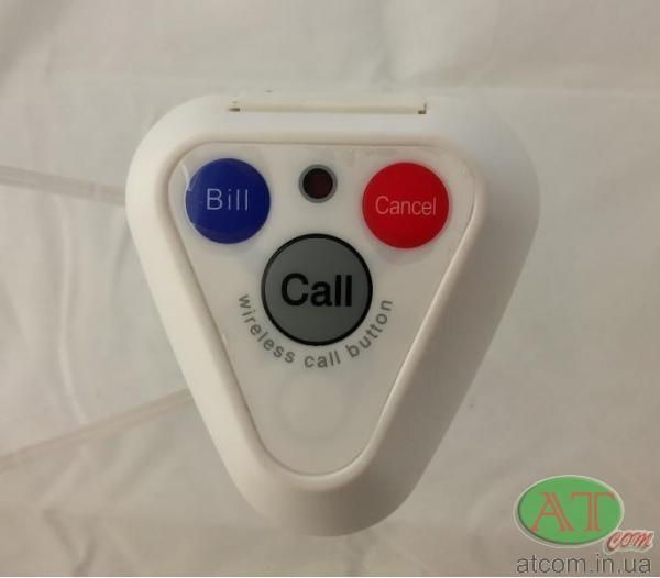 Кнопка вызова официанта R133 White RECS
