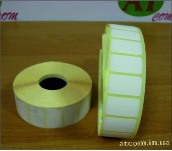 Термоетикетка 24х14 T.Eco (Термоеко) / 2000 шт.