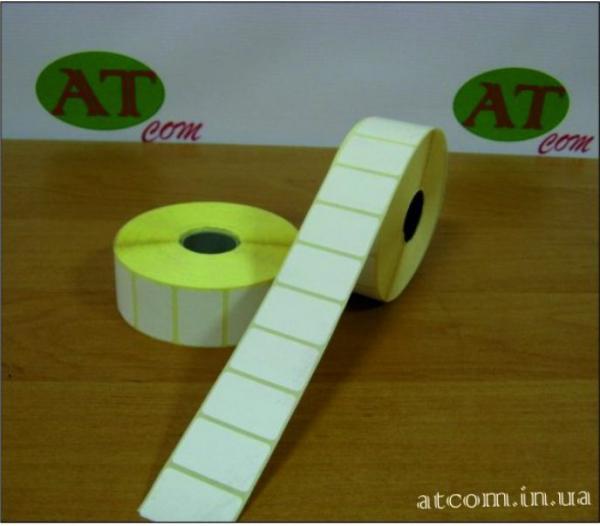Термоетикетка 30х20 T.Eco (Термоеко) / 2000 шт.