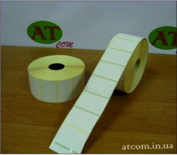 Термоэтикетка 40х25 T.Eco (Термоэко) / 2000 шт.