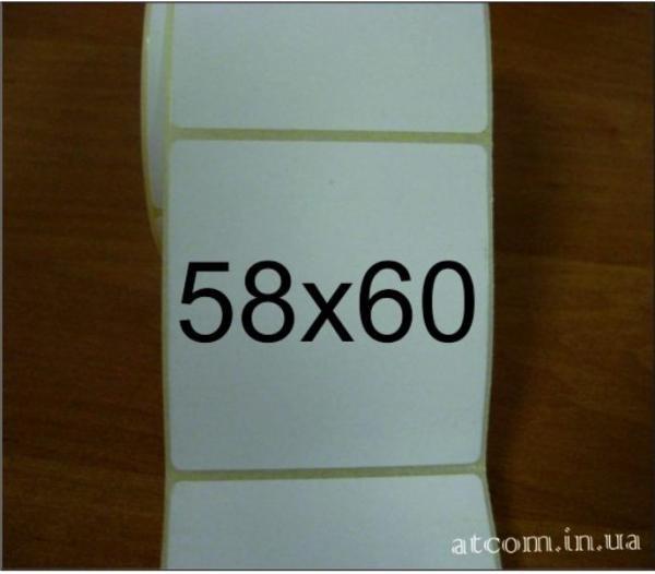 Термоэтикетка 58х60 T.Eco (Термоэко) / 460 шт.