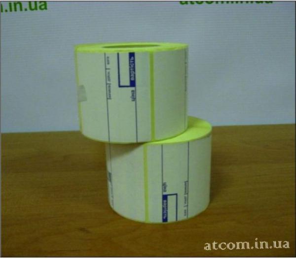 Термоетикетка 58х60 препринт T.Eco (Термоеко) / 460 шт.